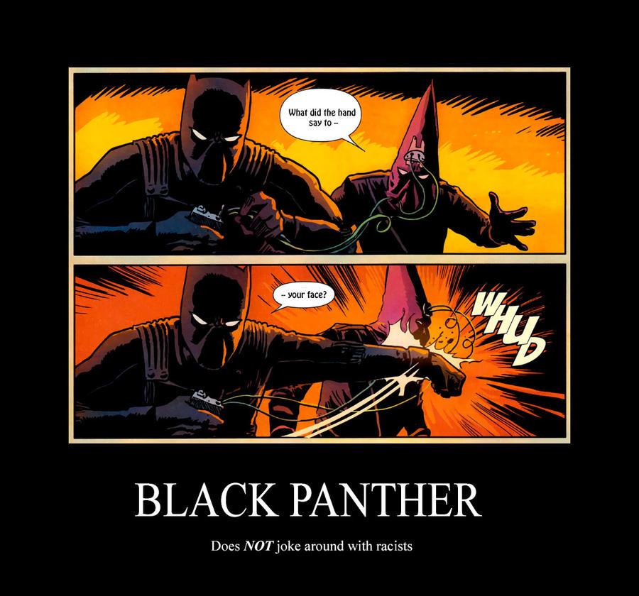 black panther demotivational poster by ele bros on deviantart