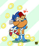 Boom Sally has a crush on Sonic    by Huggies-EXE by FrankJaegerz
