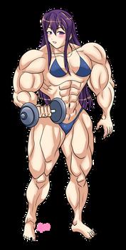 Doki Doki Muscle Club by Shayeragal