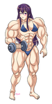 Doki Doki Muscle Club by Shayeragal by FrankJaegerz