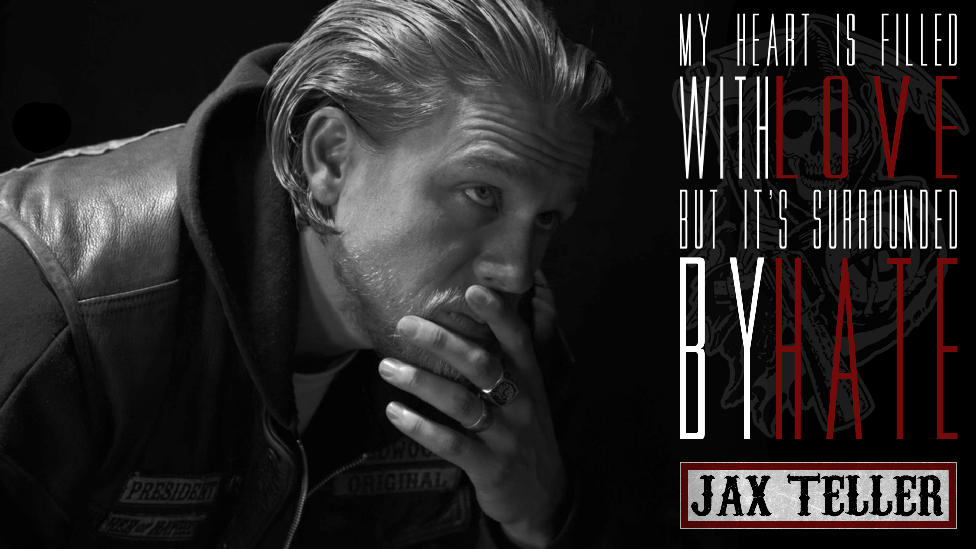 sons of anarchy jax teller fan art by coppersgraphics