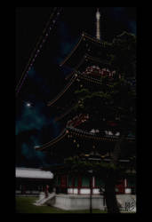 Pagoda by Kage7