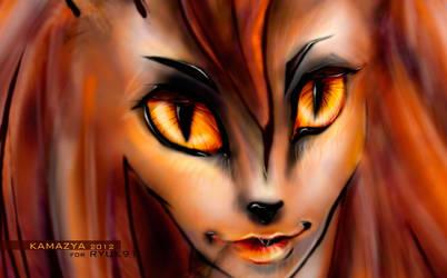 The Fox by kamazya