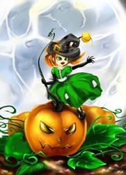 Little witch by kamazya