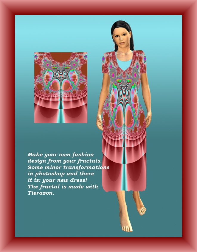 Fractal Fashion Design by FractalBee