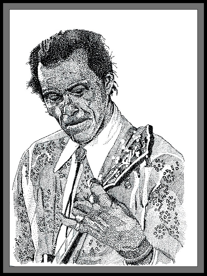 Chuck Berry by FractalBee