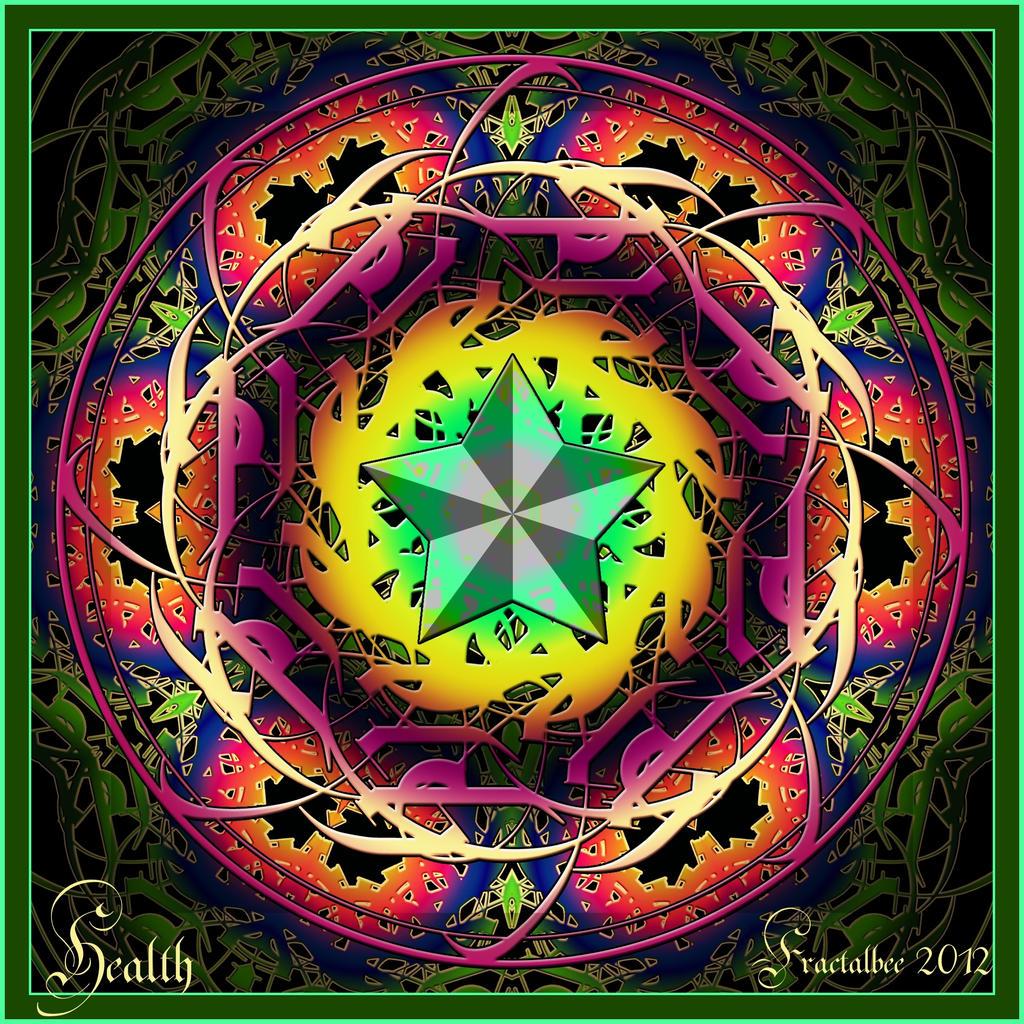 Mandala for Health (Present for Jim) by FractalBee