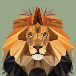King Lion by FractalBee