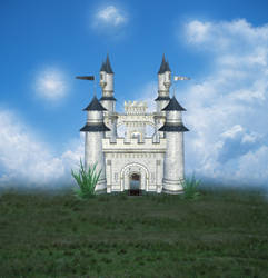 Castle Stock Background by PVS