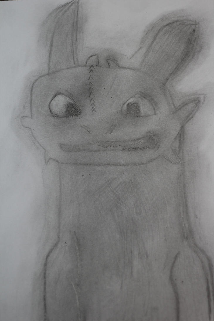 Toothless HTTYD by Abdelrahman03