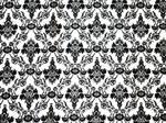 Brocade black white