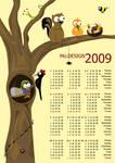 Mo.DESIGN Tree Calendar 2009