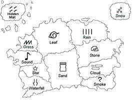 Naruto Map revised by Daedrin