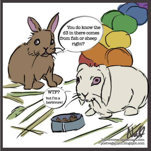 Most Rabbit Food Contains Fish