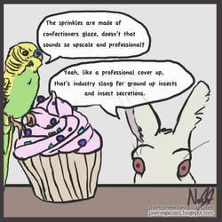 Sprinkles Contain Dead Animals