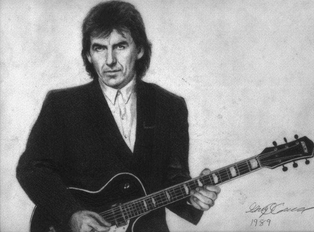 George Harrison by GaryMOConnor