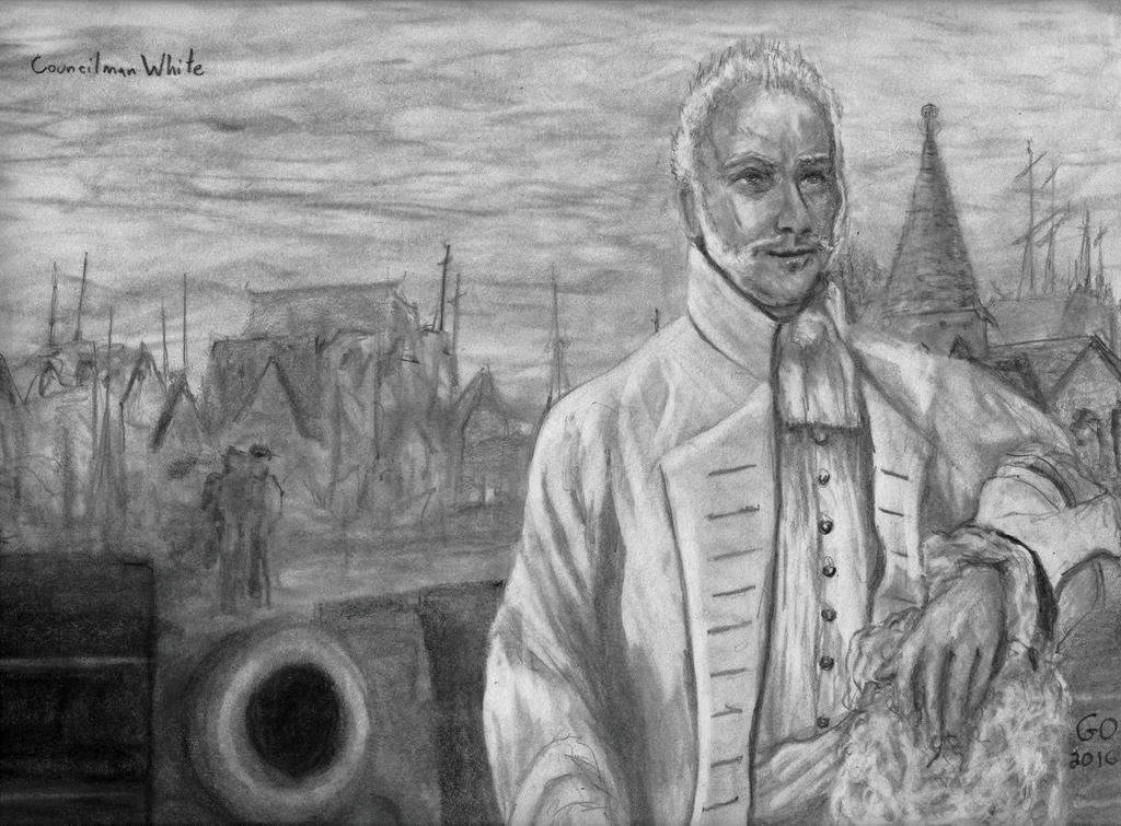 Councilman Captain White by GaryMOConnor