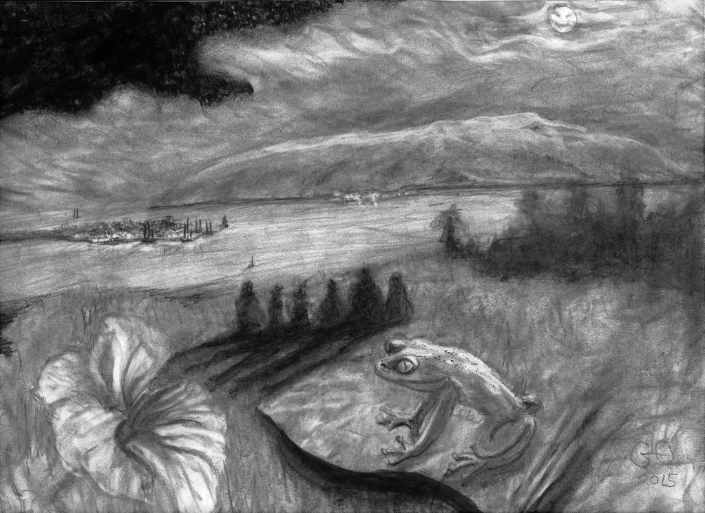 Ponder Field by GaryMOConnor