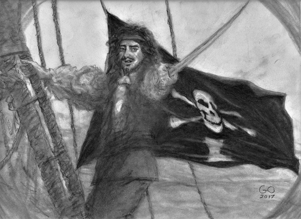 Pirate Emmanuel Wynne by GaryMOConnor