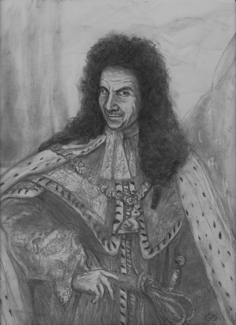 And Chris Barrie as King William (BlackAdder joke) by GaryMOConnor