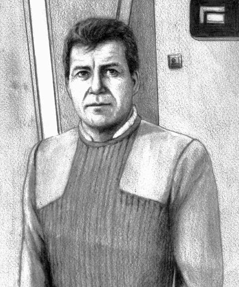 Captain Kirk aka William Shatner by GaryMOConnor