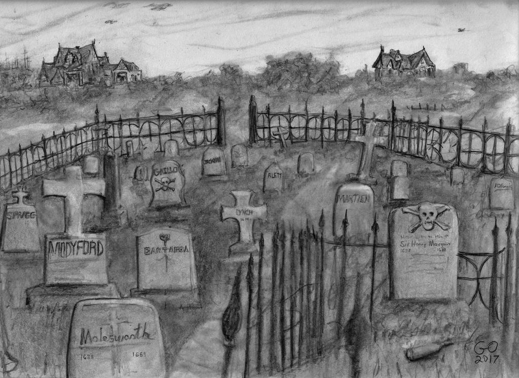 ye Port Royal Graveyard by GaryMOConnor