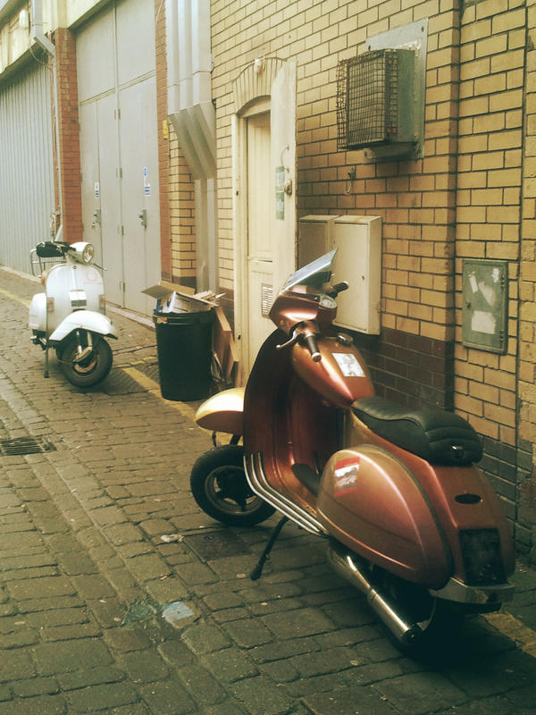Scooters - colour vers by ratofthelab