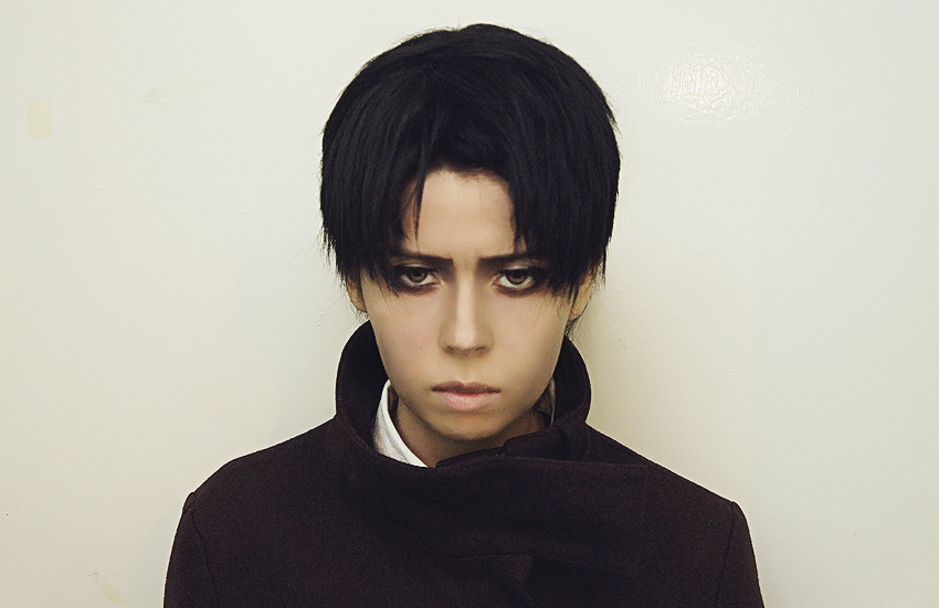 Levi Shingeki no Kyojin Test Makeup by StudioMadhouse