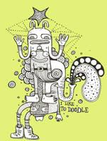 i like to doodle by ArtByAlexChiu