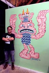 Canna House Collective Mural by ArtByAlexChiu
