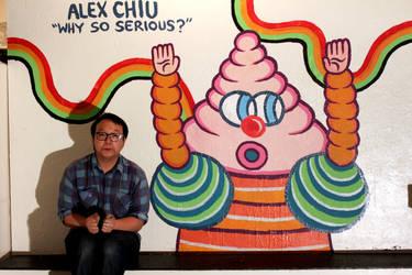 Alex Chiu, Why So Serious? by ArtByAlexChiu