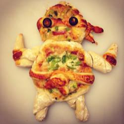 Pizza Time by ArtByAlexChiu