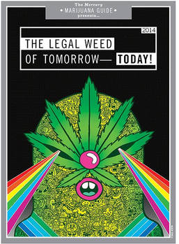 The Portland Mercury Marijuana Guide Cover