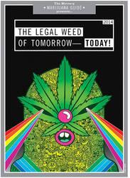 The Portland Mercury Marijuana Guide Cover by ArtByAlexChiu