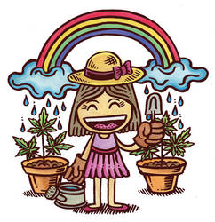Gardener by ArtByAlexChiu