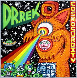 Dr. Rek, Cosmosurdity, Album Art by Alex Chiu