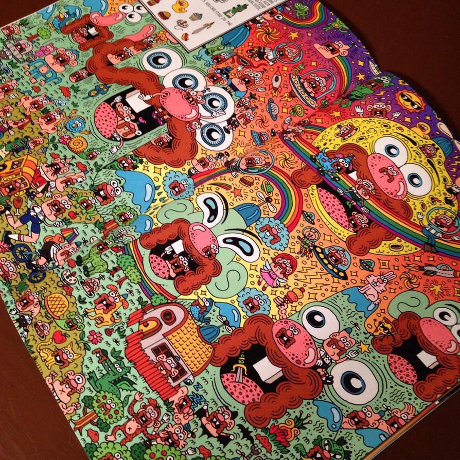 Uncle Grandpa issue 3 spread by ArtByAlexChiu