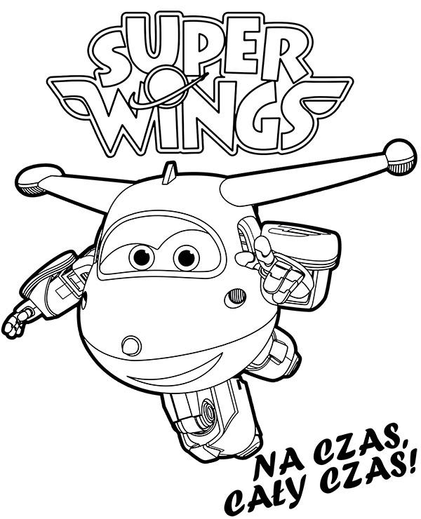 Super Wings Dzetek Malowanka By E Kolorowanki On Deviantart