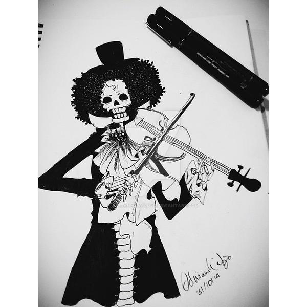 Soul King Brook - One Piece by AdrianneWalujo on DeviantArt