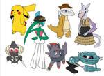 OA Pokemon group 1