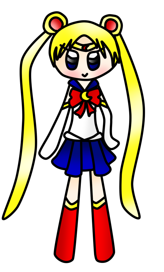 Sailor Moon by cocakirby
