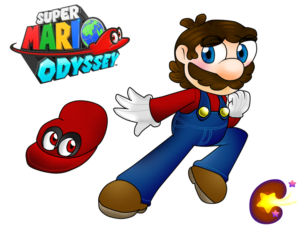 Super mario odyssey by cocakirby on deviantart for Super mario odyssey paintings
