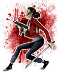 Zoey from Left 4 Dead