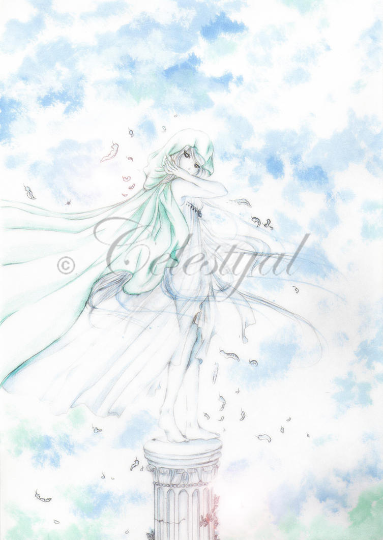 Angelic blue by Celestyal