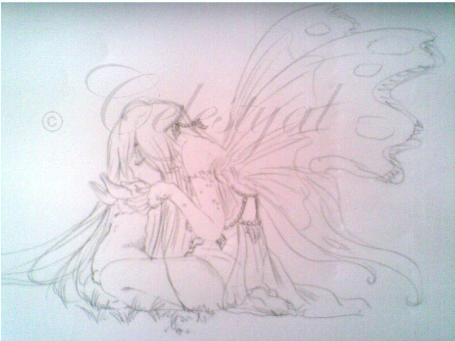 A kiss to a dear friend by Celestyal