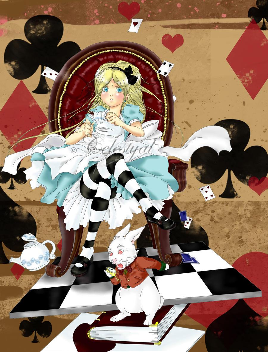 Alice in wonderland by Celestyal