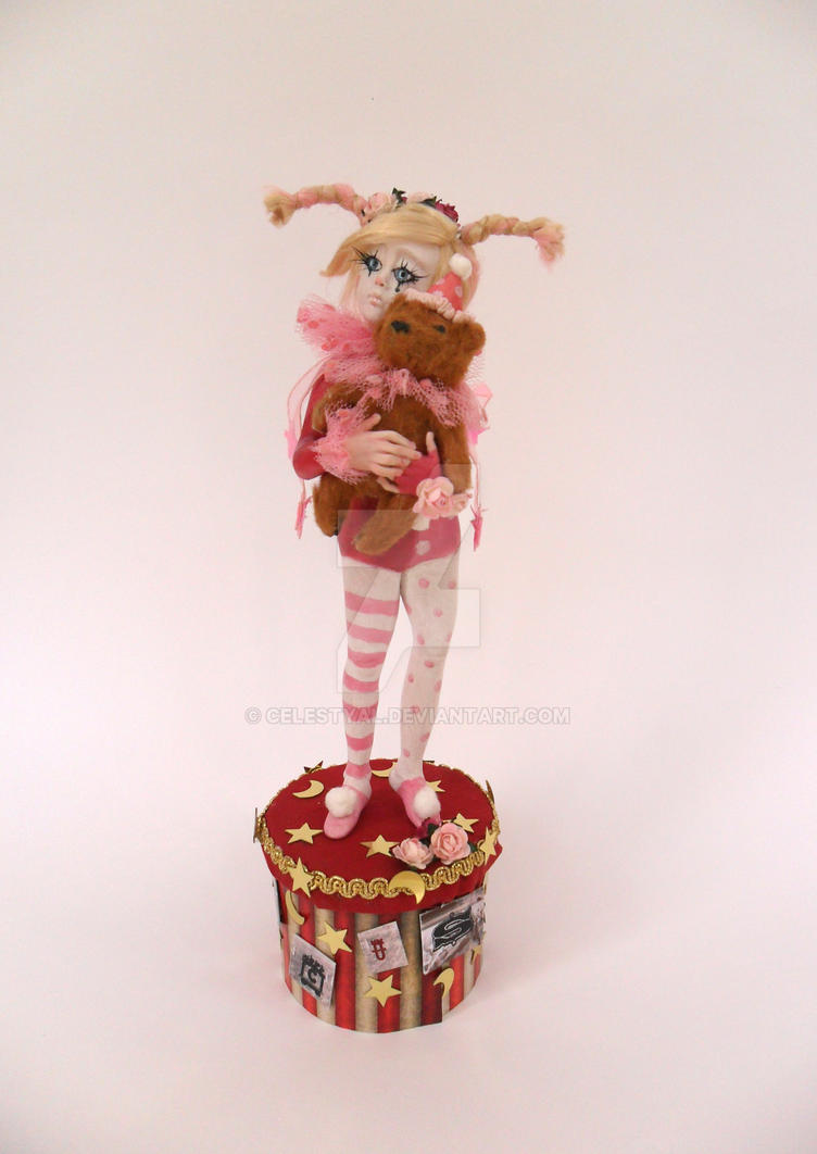 Welcome to the circus-OOAK sculptures by Celestyal by Celestyal