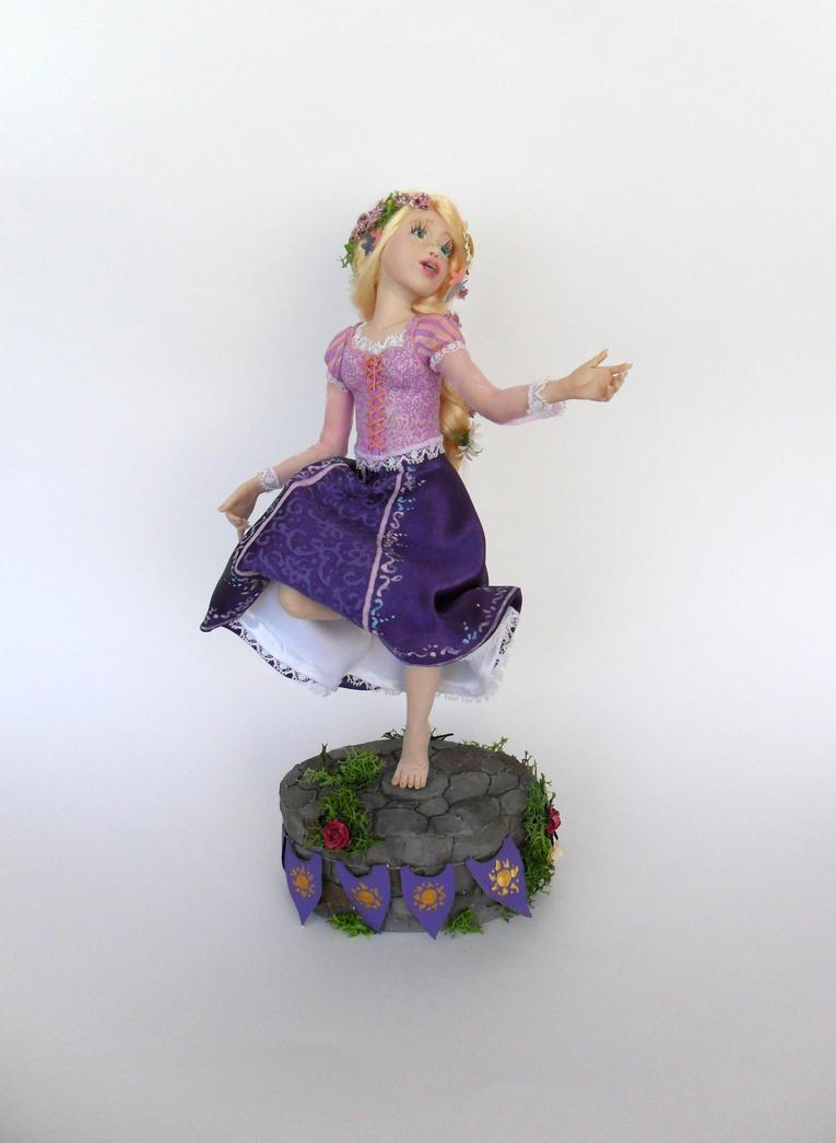 Dancing Rapunzel by Celestyal