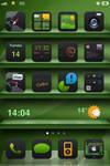 Green Iphone 4