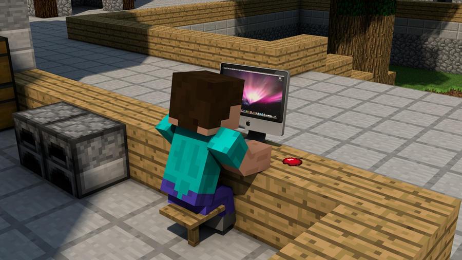 Minecraft Apple Mac By Alz512